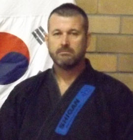 Paul Corbett Shi-Gan Martial Arts Mayfield Instructor