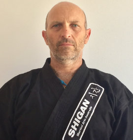 Tom Braidwood Shi-Gan Martial Arts Coal Point Instructor