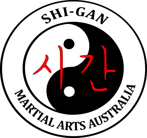Shi-Gan Martial Arts Logo - Small size for the navigation banner